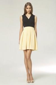 elegancka sukienka wizytowa - zdjęcie